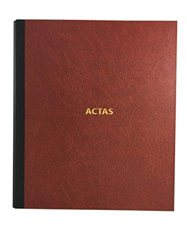 Libro de Actas de Hojas Móviles - Color Burdeos (Modelo 1)