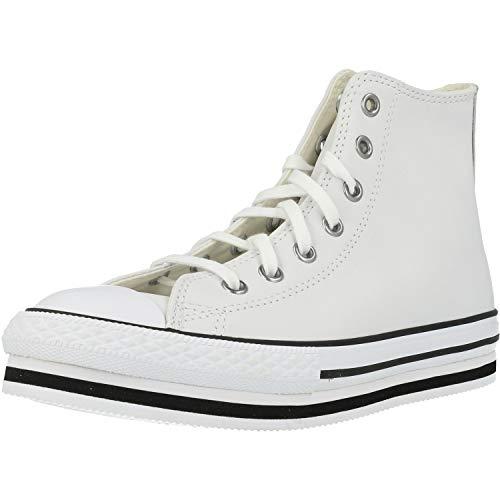 Converse Chuck Taylor All Star 2V, Zapatillas Unisex Niños, Bianco, 27 EU