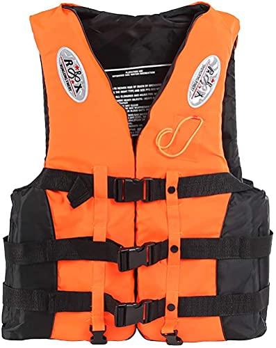 YZJL Chaquetas y Chalecos salvavidasChaleco de flotabilidad Chaqueta de natación para Adultos Chaleco de Impacto para Canoa Flotante al Aire Libre Kayak