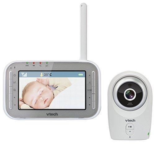 VTech BM4400XL Expert Babyphone mit Video, Weiß
