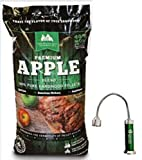 Green Mountain Grills Apple Blend Pellets with Free Grill Light GMG-2002