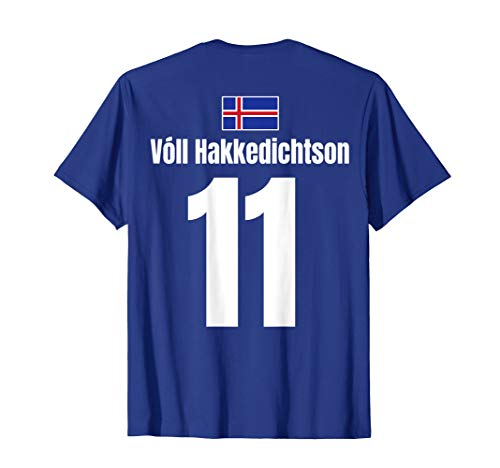 Isländische Namen Fußball Island Sauf Trikot Mallorca T-Shirt