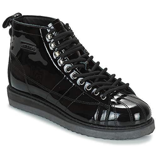 ADIDAS ORIGINALS Superstar Boot W Zapatillas Moda Mujeres Noir/Noir/Violet - 40 - Zapatillas Altas