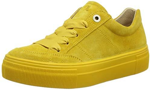 Legero Damen Lima Sneaker, Gelb (Sunshine) 6200, 40 EU