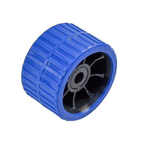 XXXX Sliprolle 120 x 74 mm, Polyurethan blau, Bohrung 15 mm