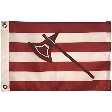 Amazon Com 12x18 Skunk Boat Flag All Weather Nylon For Outdoor Use Made In Usa Garden Outdoor