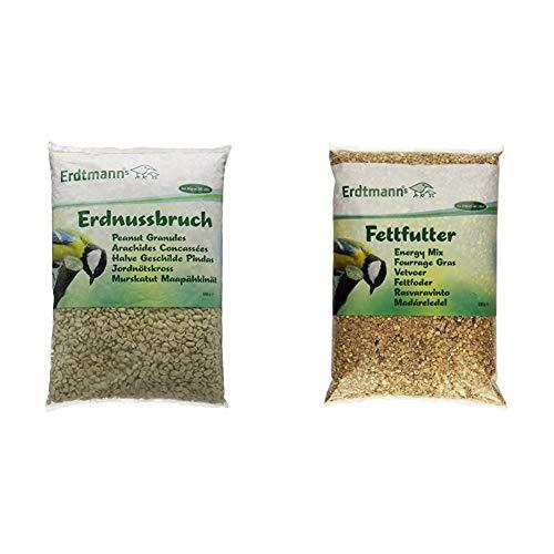 Erdtmanns Erdnussbruch, 1er Pack (1 x 5 kg) & Fettfutter, 1er Pack (1 x 5 kg)