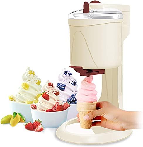 NXX Eismaschine Mit KompressorSofteismaschine Für ZuhauseIce Cream Machine1L Aluminiumfolie in Lebensmittelqualität Slush EIS MaschineFrozen Yogurt MaschineEismaschine