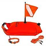 Boya Buceo + Bolsa Impermeable XL + Flotador Natación - 3 productos en 1 - Todos accesorios incluidos