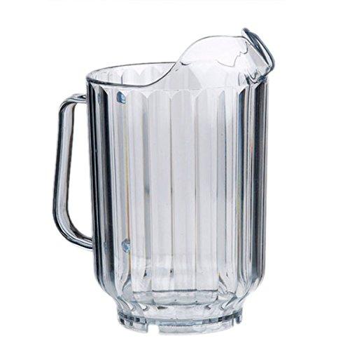 Buddy´s Bar - Pitcher, Bierkrug, Karaffe für Limonade, Wasserkaraffe, Kunststoff-Karaffe, Ø 13 cm, H: 21 cm, für eine Füllmenge von 1,5 Liter