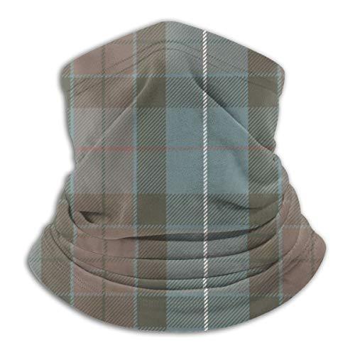 vilico Revered Fraser - Bandana para el cuello con rayas rojas, cubrebocas, pasamontañas multifuncionales, protección contra el polvo UV, reutilizable, media máscara, diadema para hombres y mujeres