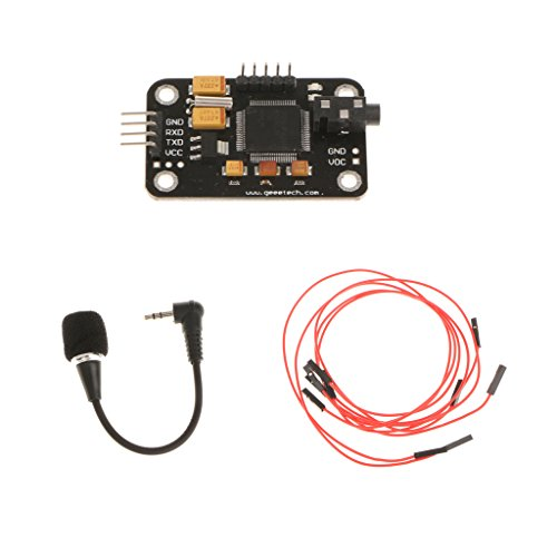 Modulo Di Riconoscimento Vocale Con Scheda Di Controllo Seriale Del Microfono Per Arduino