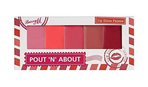 Pout 'n' About - Palette de gloss pour les lèvres - Barry M