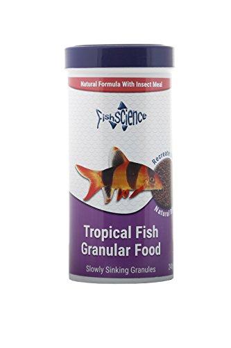 FishScience Tropical Granules 240g Fish Food