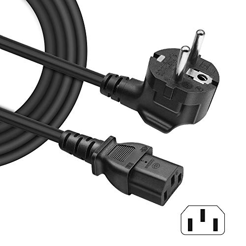 BERLS Cable de alimentación IEC320 C13 para Dispositivos