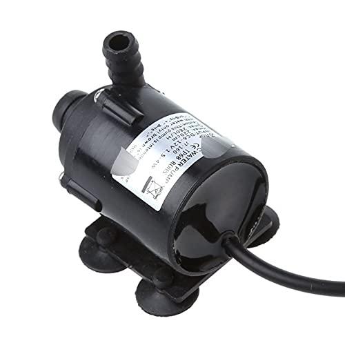 20 0L / H DC 12V Waterpomp Zonne-energie Hot Circulation Brushless Motor Aquarium Pond Dompelpompen Accessoires voor fonteinfonteinen in de tuin
