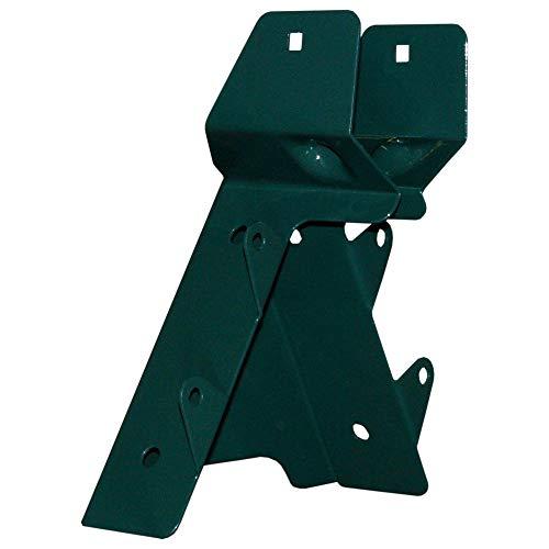 WICKEY Smart Schaukelverbinder Holzverbinder Kantholz Eckmodell 90° für Schaukelbalken bis 90/90mm