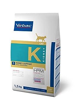 Virbac Veterinary HPM Vet Kidney Support Nourriture pour Chat 1,5 kg