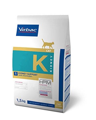 Veterinary Hpm Virbac Hpm Gato K1 Kidney Support 1,5Kg Virbac 00982 1500 g