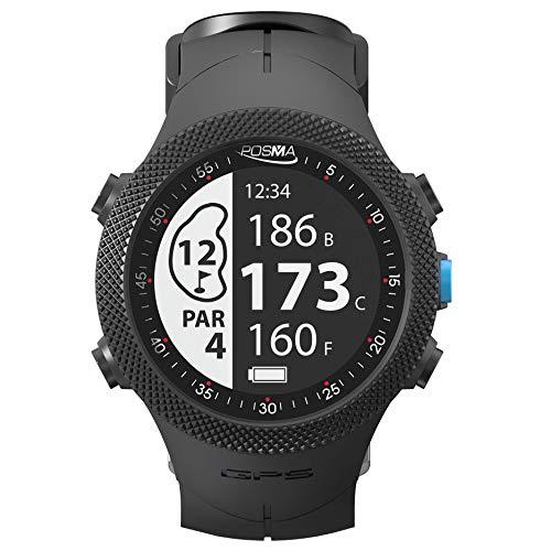 POSMA GB3 Golf Triathlon Sport GPS Uhr – Entfernungsmesser – Laufen Radfahren Schwimmen Smart GPS Uhr – Android iOS App