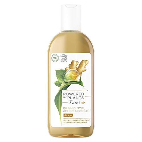 Dove Powered by Plants Naturkosmetik Pflegedusche Ginger mit pflanzenbasierten Wirkstoffen natürlichen Urspungs für eine pflegende Reinigung der Haut, 6er Pack (6 x 250 ml)