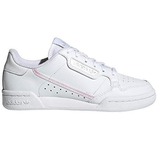 adidas Continental 80 Blancas, Zapatillas Deportivas para Mujer. Sneaker. Nostalgia Vintage (Cloud...