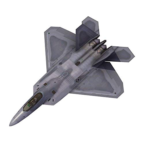 Heinside Gift Military Plastic Model Kits, 1/144 USA YF-22 Raptor Fighter Puzzle Modell, Adult Puzzle Toys and Collectibles, 7,9 Zoll Times, 5,5 Zoll Astonishing