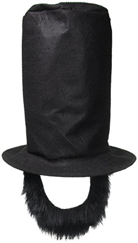 Forum Novelties Abraham Lincoln Beard & Hat Disguise Adult Costume Kit
