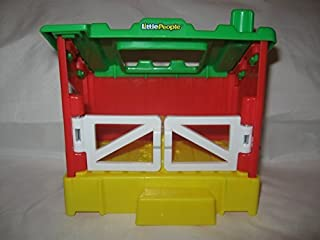 Little People Fisher Price Replacement or Add On Chicken Coop/Rabbit Hutch, Attaches to Pond Play Set