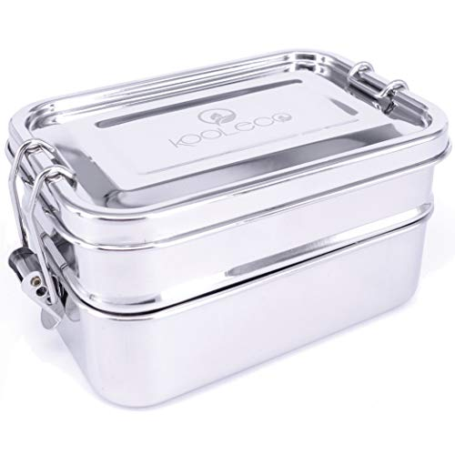Kooleco - To-Go - Leakproof Stainless Steel Bento Lunch Box - Small