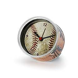 DEMDACO Big Sky Carvers Baseball Clock-n-Can