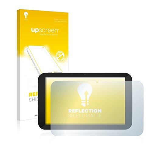 upscreen Entspiegelungs-Schutzfolie kompatibel mit TrekStor SurfTab xiron 10.1 3G (Volks-Tablet mit 3G) – Anti-Reflex Bildschirmschutz-Folie Matt