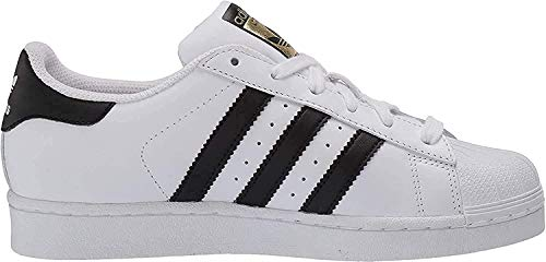 adidas Originals Superstar I Basketball Fashion Sneaker (Infant/Toddler),White/Black/White,7.5 M US Toddler