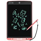 Large Size TRUIXIN LCD Writing Board 12-inch Graffiti Drawing Board and 3D Drawing Graffiti Board, with Memory Lock, Suitable for Learning Tool Gifts for Children and Adults Over 3 Years Old (Pink)