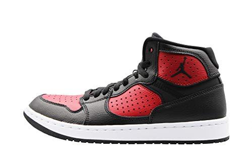 Nike Herren Jordan Access Basketballschuhe, Mehrfarbig (Black/Gym Red-White 006), 42 EU
