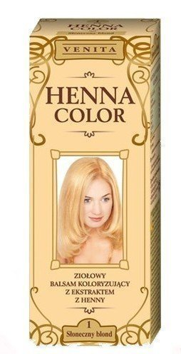 Henna Color - baume colorant au HENNÉ pour cheveux - 100% NATUREL - BLOND SCANDINAVE