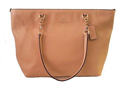 Coach Pebble Leather Sophia Tote Bag
