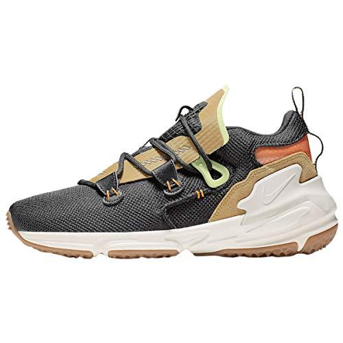 Nike Zoom Moc Hombre Trainers AT8695 Sneakers Zapatos (UK 8.5 US 9.5 EU 43.5, Black Phantom Club Gold 001)