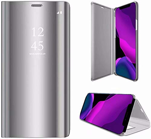 2ndSpring Funda Compatible con Samsung Galaxy A5 2018 /A8 2018,Modelo Inteligente Fecha/Hora...