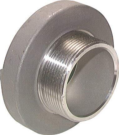 "Acoplamiento Storz G 2-1/2"" (AG), 75-B, aluminio (forjado). Material: aluminio (forjado)."