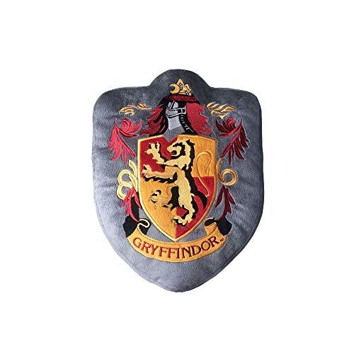 Harry Potter – Cojín – Gryffindor – Decoración de peluche – Escudo – Gris