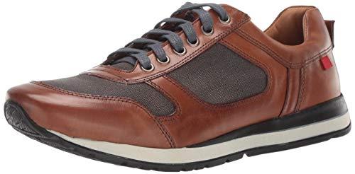 Marc Joseph New York Mens Genuine Leather Made in Brazil Carmine Street Sneaker, jeans blue/brown 13 M US