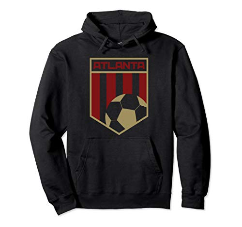 Atlanta Soccer Jersey Style United Football Men Women Kids Pullover Hoodie