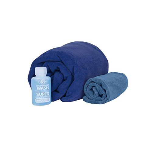 Sea to Summit Tek Towel Kit de Lavage concentré pour Serviettes de Toilette