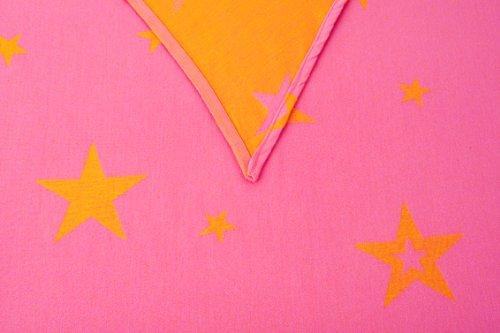 Kokadi 4250715700290 - Babytragetuch Gr.7 Orange Stars