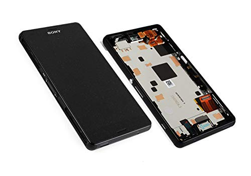 Original Sony Xperia Z3 Compact D5803 LCD Display Touchscreen & Rahmen Schwarz 1289-2667