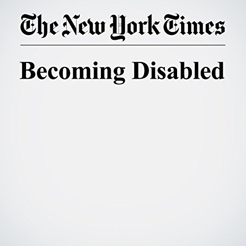 Becoming Disabled audiobook cover art
