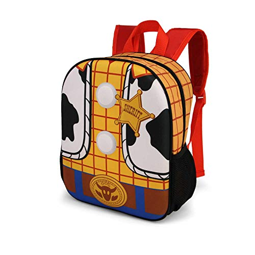 Karactermania Toy Story Woody-3D Rucksack (Klein) Mochila Infantil 31 Centimeters 8.5 Multicolor (Multicolour)