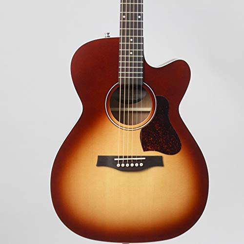 Seagull Entourage Autumn Burst CH CW Concert Hall Body Cutaway Acoustic-Electric Guitar with Gig Bag (046485)