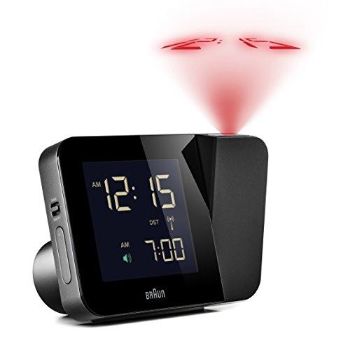 Braun BNC015BK-RC Projection Quartz Clock